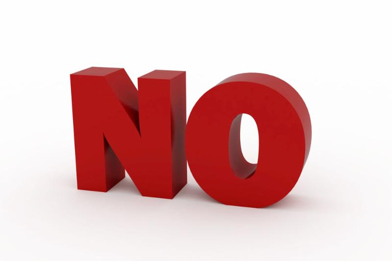We Could All Use More 'No's' In Our Lives!